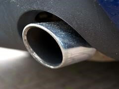 PM 2.5 car exhaust pipe